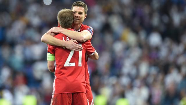 «Спасибо, легенды!» Как Мюнхен проводил Лама и Алонсо
