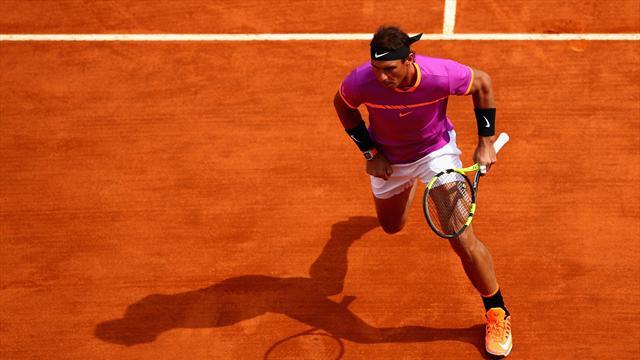 Masters 1.000 Montecarlo, Nadal-Zverev: Más peligro que el Bayern (16:00)