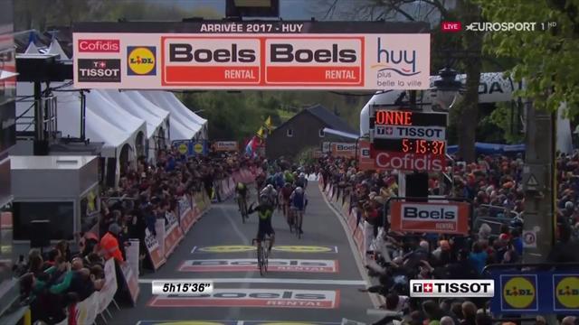 Quattro consecutive, 5 in carriera: Valverde si prende ancora la Freccia Vallone