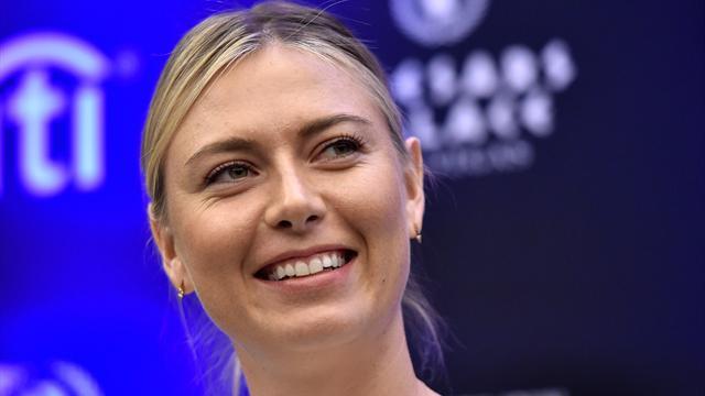 """Sharapova : """"L'opinion des joueuses ? C'est le dernier de mes soucis"""""""