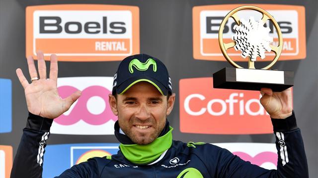 Veteran Valverde takes fifth Fleche Wallonne