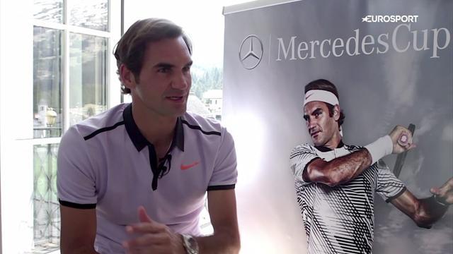 """Federer: """"Fast ein bisschen kitschig"""""""