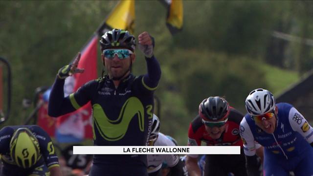 Alejandro Valverde claims record fifth overall Fleche Wallonne title