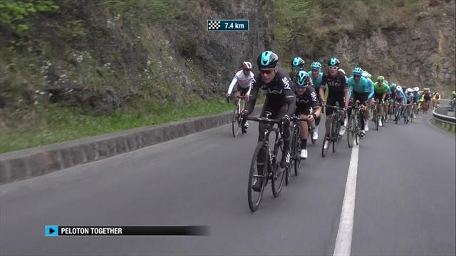 Geraint Thomas win queen stage, takes overall lead