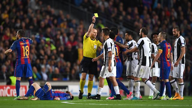 La moviola di Barcellona-Juventus 0-0: Kuipers promosso ma al Barça manca un penalty