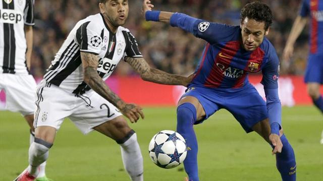 Empate sin goles entre el Barça y la Juve al descanso
