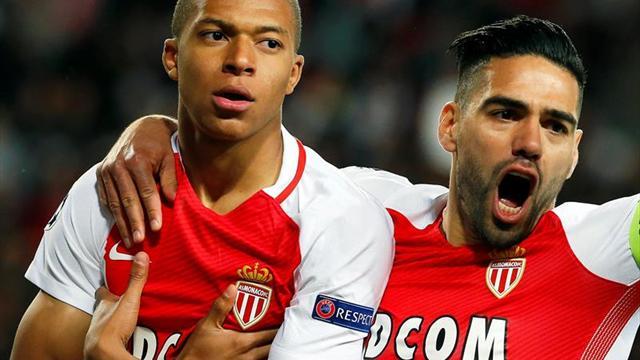 3-1. Mbappé y Falcao confirman el pase a las semifinales del Mónaco