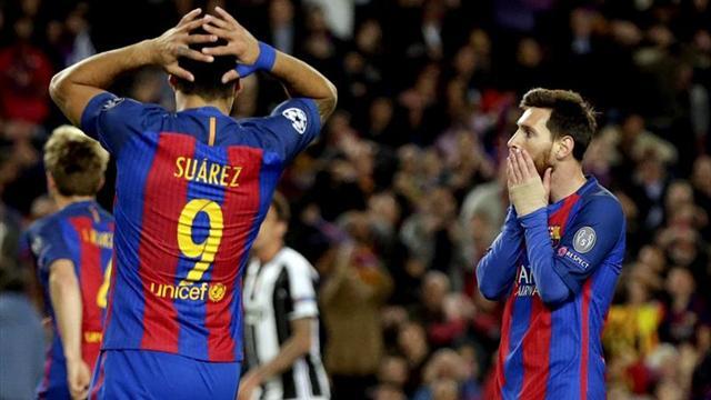 0-0. Sin milagro azulgrana en el último partido europeo de Luis Enrique
