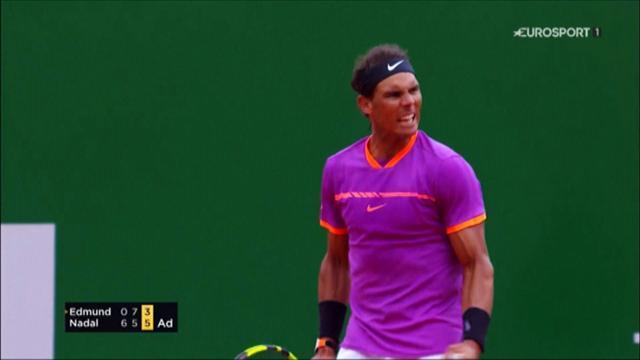 ROLEX MINUTE: Nadal edges past Edmund into third round