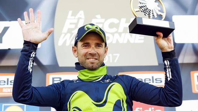 """Valverde: """"Quizá es la Flecha Valona que menos trabajo me ha costado"""""""