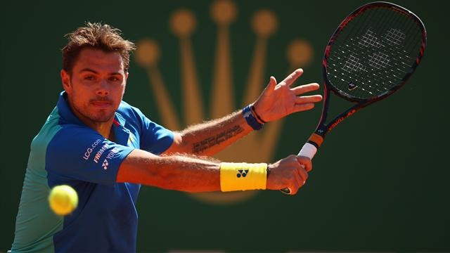 No. 3 seed Wawrinka dumped out of Monte Carlo by Cuevas