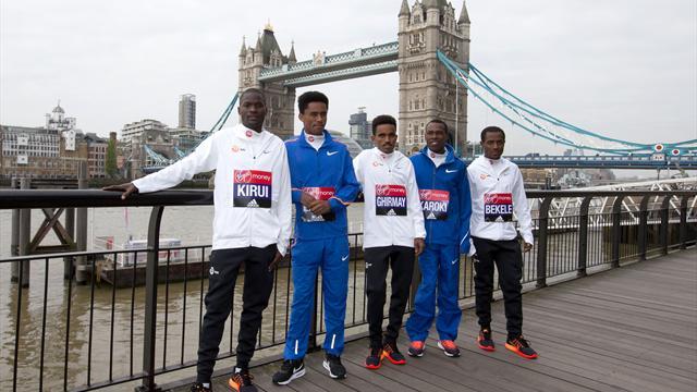 "Bekele greift in London Marathon-Weltrekord an - ""Zwei-Stunden-Mann"" Kipchoge fehlt"