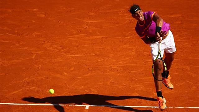 Masters 1.000 Montecarlo, Zverev-Nadal: Se comió toda la tarta 1-6 y 1-6