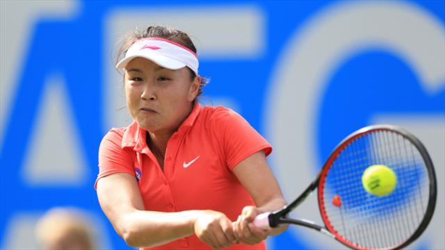Kazakhstan's Zarina Diyas books quarter-final spot in Zhengzhou