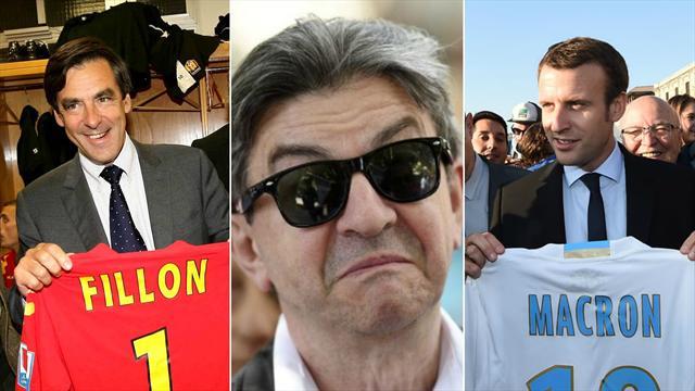 De Fillon à Macron : ces candidats sont aussi des supporters