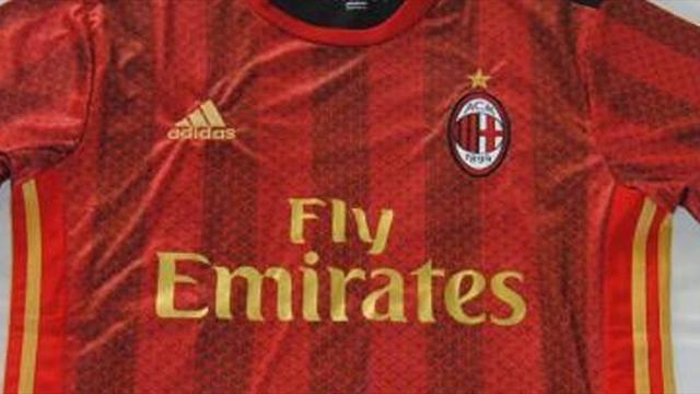 Milan, la terza maglia 2017/2018 avrà i colori della bandiera della Cina?