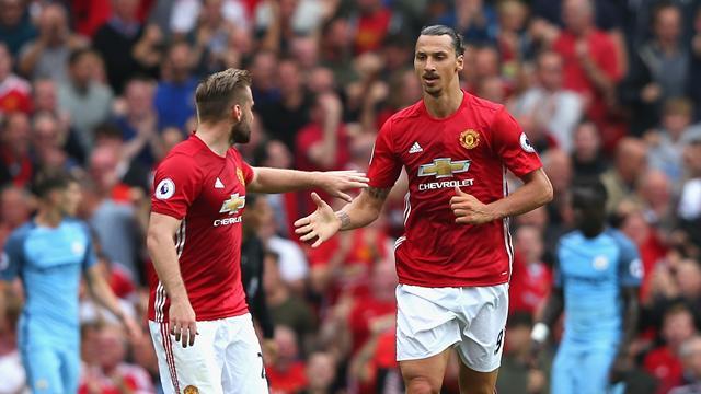 Zlatan, Mkhitaryan, Shaw start for Manchester United