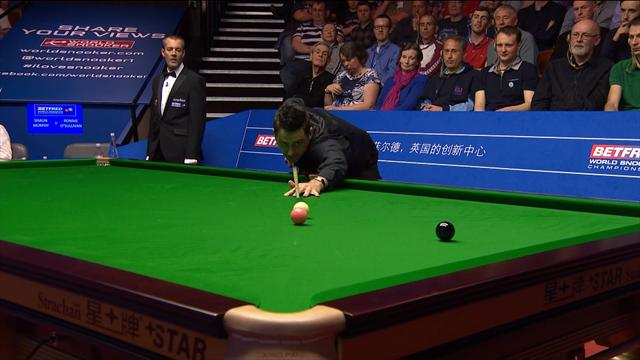 Ronnie O'Sullivan makes majestic century… until the final shot