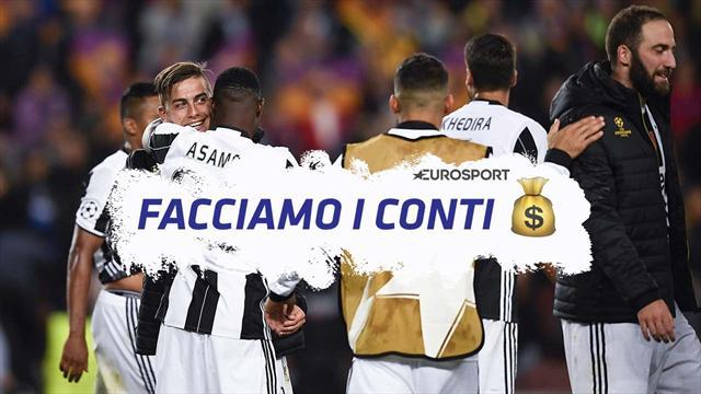 Facciamo i conti: la Juventus ringrazia le altre italiane, 260 milioni in 3 anni dalla Champions