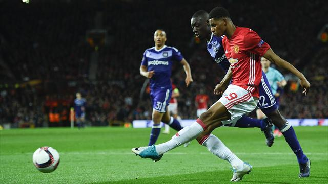 Manchester United v Anderlecht goes to extra time