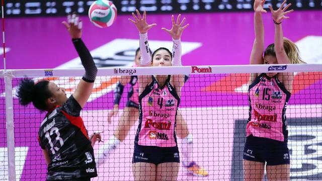 Playoff Scudetto: Casalmaggiore è l'ultima semifinalista, Busto Arsizio si arrende