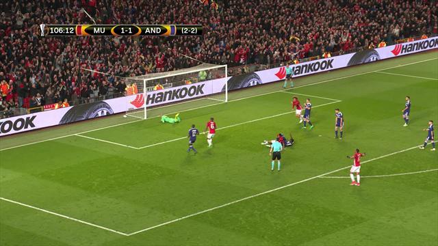 Rashford sendte United ett skritt nærmere semifinale