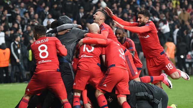 Lyon schockt Besiktas in Elfmeter-Krimi