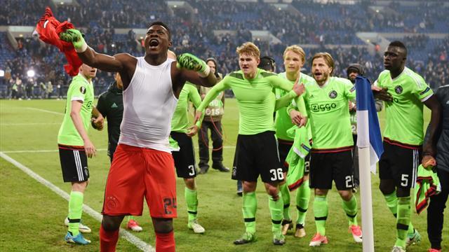 L'Ajax a aussi vécu une folle soirée, le Celta complète le quatuor