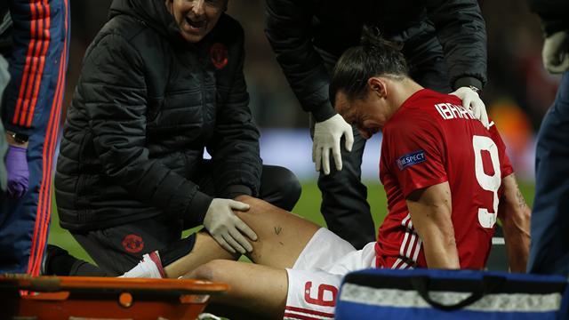Ди Марцио: Златан повредил крестообразные связки и пропустит 9 месяцев