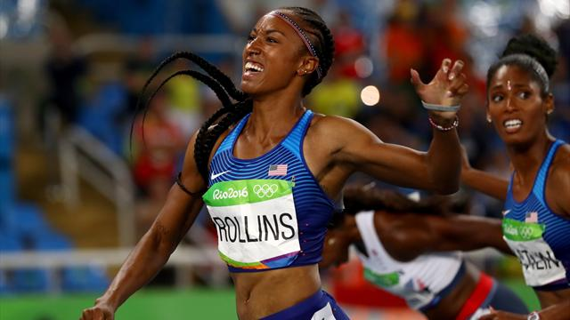Irreperibile per 3 volte ai controlli: sospesa per un anno la campionessa olimpica Brianna Rollins