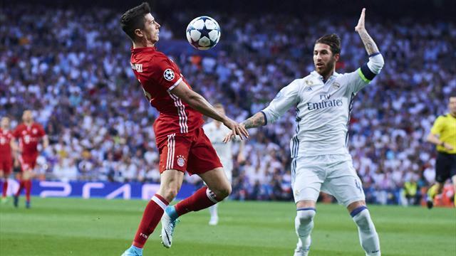 AS: Роналду и Рамос попросили Левандовского перейти в «Реал»