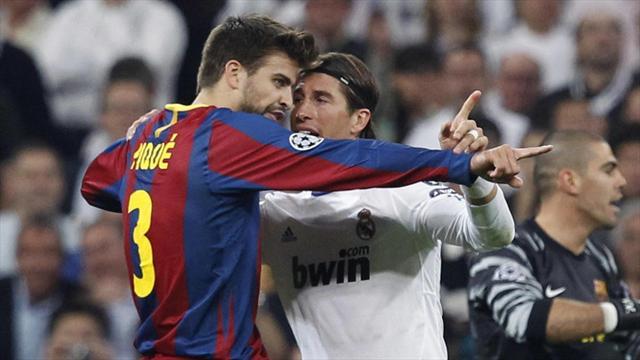 Grâce à Piqué et Ramos, le Clasico a déjà commencé