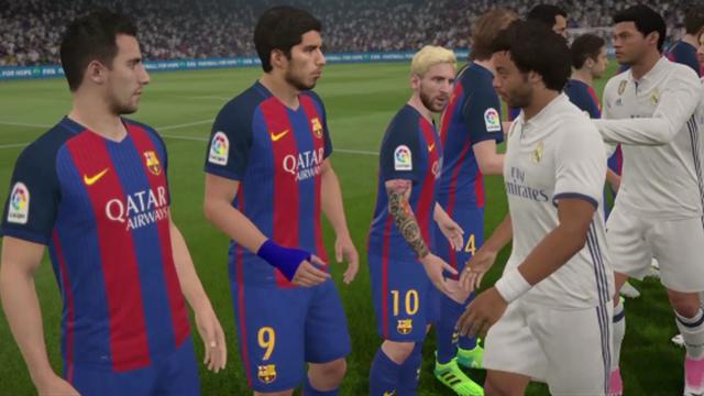 Liga Virtual: Así ha quedado el Real Madrid-Barcelona