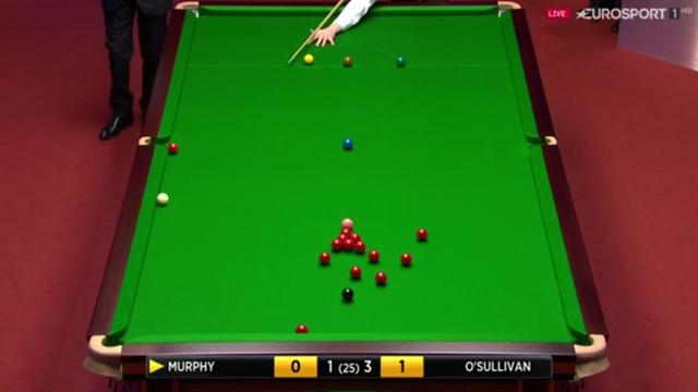 """""""Cos'ha fatto Murphy?"""": fantastico trick-shot dell'inglese contro O'Sullivan"""