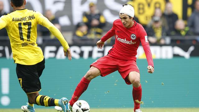 """Frankfurt sorgt sich um verletzten Vallejo: """"Sind in der Fürsorgepflicht"""""""