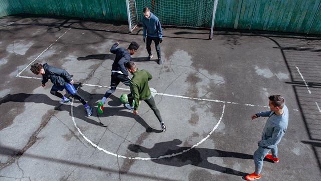 Nike запустит в России программу по отбору молодых футболистов