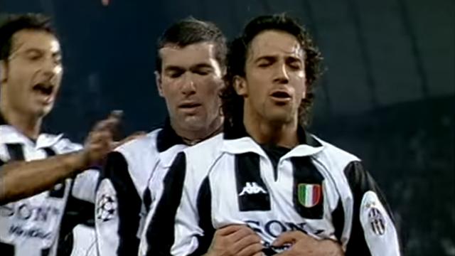 Juventus-Monaco, la tripletta di Del Piero che decise il primo incrocio