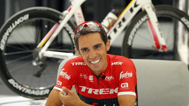 "Contador, para Eurosport: ""En mente sólo tengo ganar a Froome de tú a tú"""