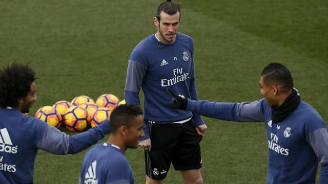 Bale continúa su progreso y Varane se incorpora parcialmente al grupo