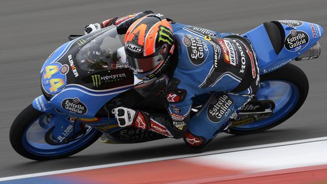 Canet dominiert Moto3 zum Auftakt in Austin