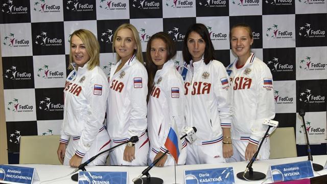 Веснина и Ван Эйтванк откроют матч Россия – Бельгия