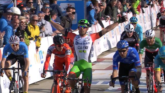 Sprintfinale auf der 4. Etappe in Kroatien