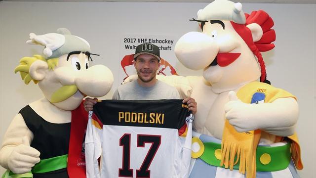Подольски стал послом чемпионата мира по хоккею 2017 года