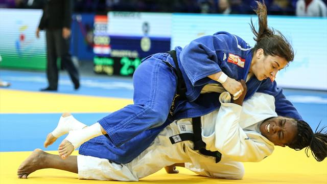 Tina Trstenjak si conferma campionessa Europea delle 63 kg, Edwige Gwend settima