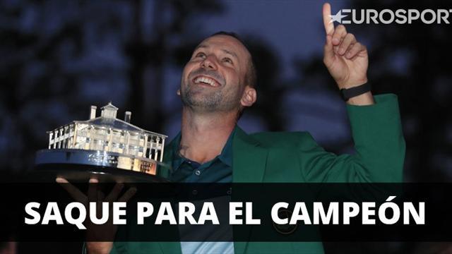 Sergio García realizará el saque de honor en el Clásico por el Real Madrid
