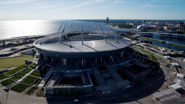 РФС подал заявку на проведение матча открытия Евро-2020 в Санкт-Петербурге