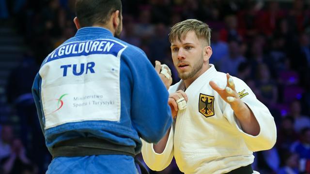Judo-EM: Ressel und Scoccimarro holen in Warschau Silber