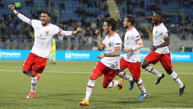 Novara-Perugia 0-1 nel primo anticipo