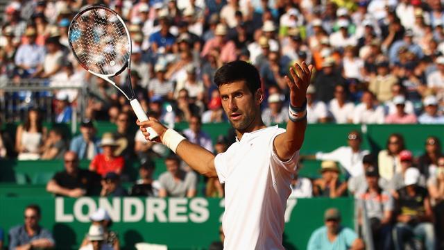 """Djokovic : """"Je fais tout ce que je peux pour bien jouer"""""""
