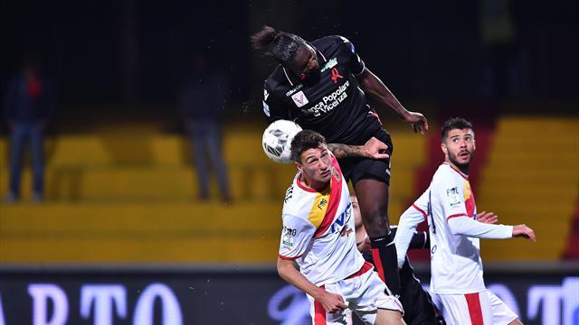 Benevento-Vicenza 0-0 nel secondo anticipo